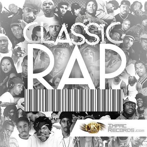 Classic Rap Mix Vol 1 DJ Rivera Impac Records