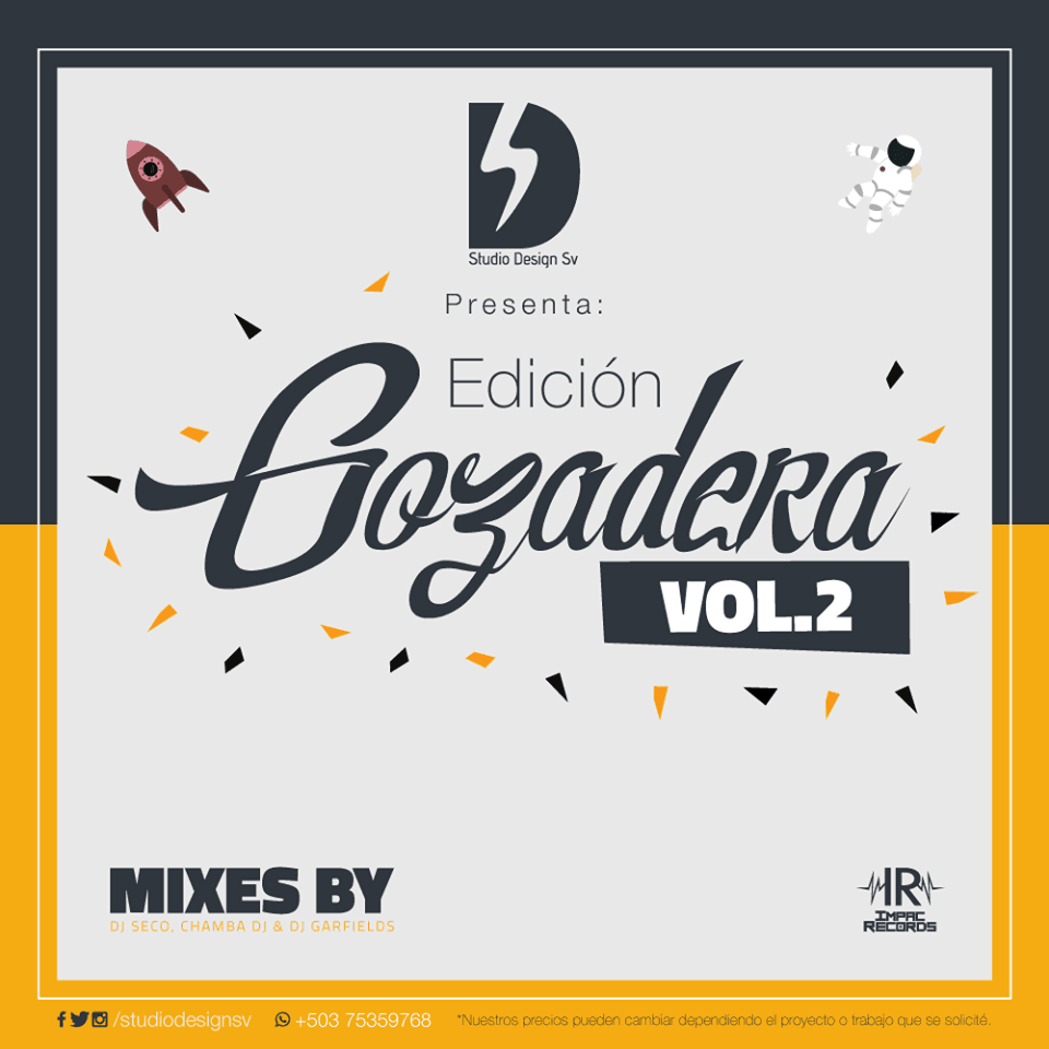 Edicion Gozadera Vol 2 Studio Design Sv Impac Records