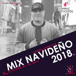Mix Navideño 2018 DJ System ID DJ Seco I.R. Cover WEB