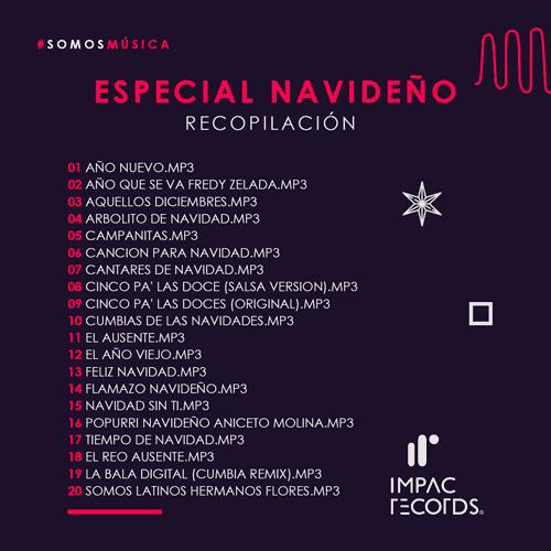 Especial navideño - Recopilacion Impac Records