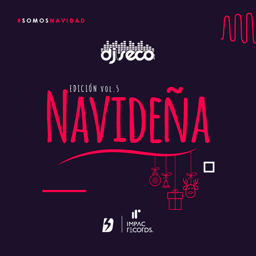Edicion Navidena vol 5 By DJ Seco Impac Records (Cover)
