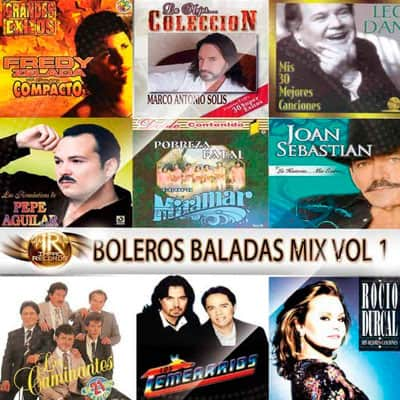 Boleros Baladas Mix Vol 1 Impac Records