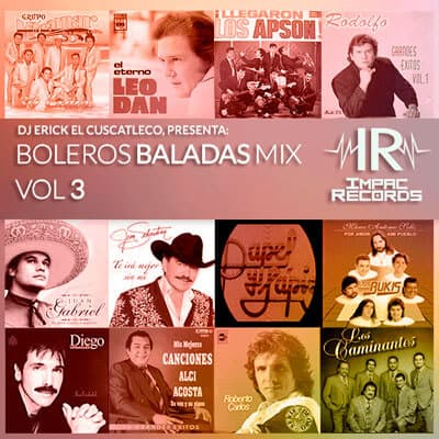 Boleros Baladas Mix Vol 3 Impac Records
