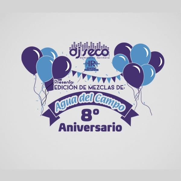 Edicion-Agua-del-Campo-Impac-Records-DJ-Seco-El-Salvador