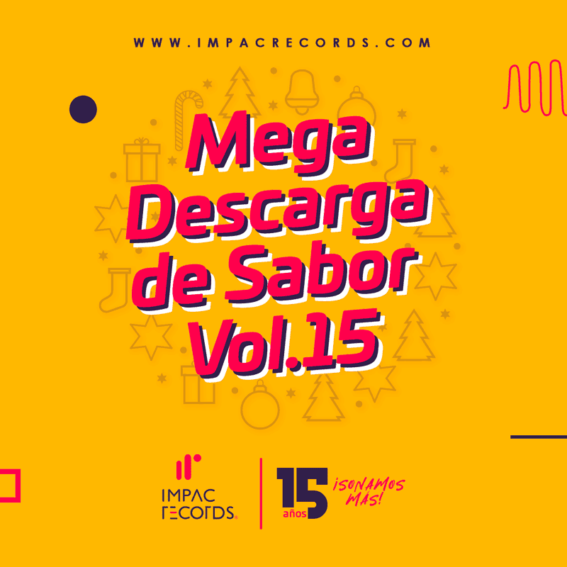 Mega Descarga de Sabor Vol 15 Cover