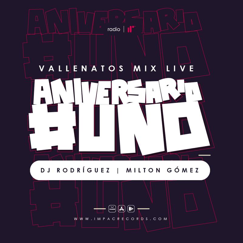 Vallenatos Mix Live Impac Records Radio